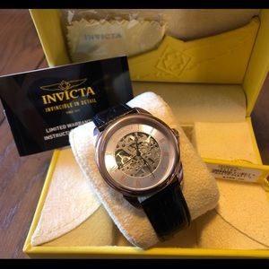 $495 Men's Skeleton Invicta Automatic Watch 31155